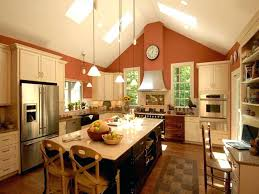 vaulted kitchen ceiling ideas kitchen lighting ideas for vaulted ceilings kitchen cathedral