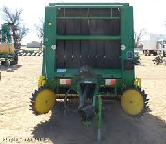 1990 john deere 535 round baler item da0326 sold march