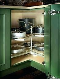 Storage Solutions For Corner Kitchen Cabinets Kitchen Corner Cabinet Solutions Liftechexpo Info