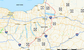 New York Map State by New York State Route 13 Wikipedia