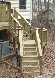 Corner Deck Stairs Design Deck Stairs 90 Degree Corner Deck Design And Ideas