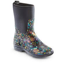 womens neoprene boots canada chief s neoprene rubber boots 648123 rubber