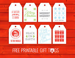 tags for gifts to print free for