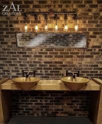 Rustic Bathroom Sconces Impressive Rustic Bathroom Lights 131 Rustic Bathroom Wall Lights