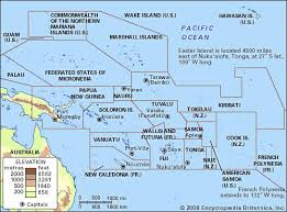 List Of French Speaking Countries In The World - pacific islands region pacific ocean britannica com