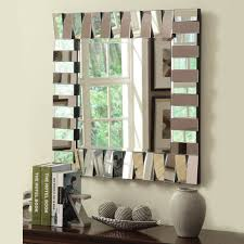 Mirror Wall Tiles by Antiqued Mirror Wall Tiles With Beautiful Beveled Mirrored Tile