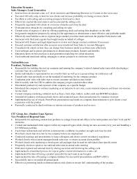 Lead Generation Resume Pizzuti Resume Detail Of Experience