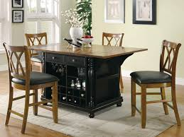 kitchen island tables with stools kitchen stunning home slater kitchen island black and brown