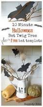 free halloween decorations the 25 best bat template ideas on pinterest halloween templates