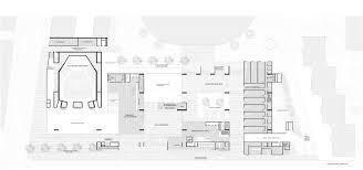 architectural floor plan drawings universita luigi bocconi grafton architects
