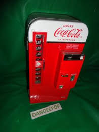 Table Top Vending Machine by Vintage Coin Opperated Apple Vending Machine Very Rare Find