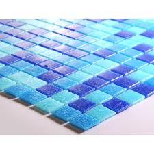 Blue Glass Tile Bathroom Glass Mosaic Tiles Blacksplash Vitreous Mosaic Tile Bathroom Mixed