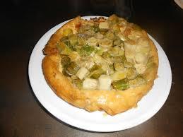 tf1 recettes cuisine laurent mariotte tarte renversée aux poireaux et au brillat savarin le jardin de