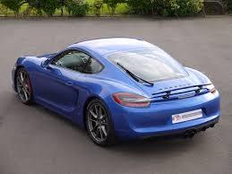 porsche cayman blue used porsche cayman gts 3 4 manual gts 2015 top 555 top555
