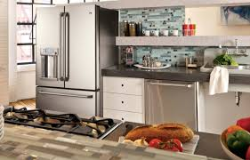 stainless steel appliance design for a modern kitchen ge appliance