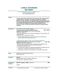 Professional Nurse Resume Template Example Nursing Resume Sample Oncology Nurse Practitioner