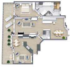 Color Floor Plan Roomsketcher Fast And Flexible Floor Plans From Matterport Scans