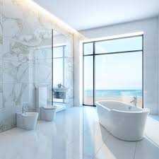 Marble Tile Bathroom by Double Bathroom Vanity Marble Countertop Marble Mosaic Tiles Floor