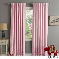 Patio Door Thermal Blackout Curtain Panel Pink Eyelet Curtains 66 X 54 Memsaheb Soft Blackout Kids Room