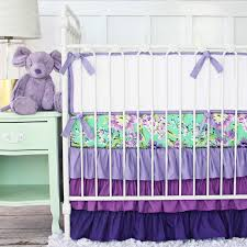 Plain Crib Bedding Plain Purple Crib Bedding Suitable Plus Pink Purple Crib Bedding