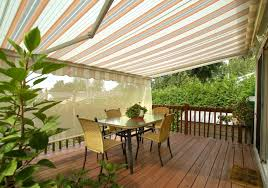 Patio Awnings Retractable Patio Awnings Sunsetter Patio Covers Vinyl And