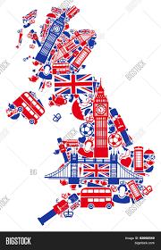 Britain Map Great Britain Map Vector U0026 Photo Bigstock