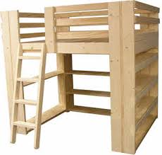 Free Plans For Dorm Loft Bed by Loft Beds For Youth Teen College Students And Adults