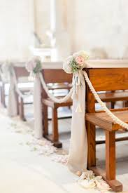 church decorations for wedding wedding pew decorations images decoration tulle and staggering
