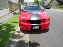 Black Mustang With Red Stripes Flat Black Racing Stripes Ford Mustang Forum