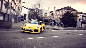 porsche germany porsche cayman gt4 from germany to the tg track