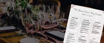 planning a dinner party your checklist la crema
