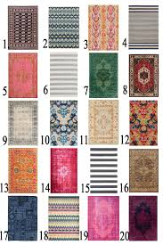 tips for choosing the best area rugs for your room pink