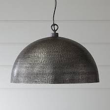hammered metal pendant light hammered metal pendant light with a charming futuristic design