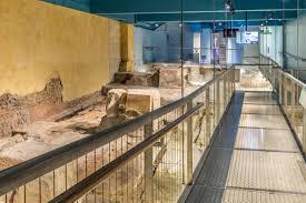 roman bath house floor plan walkthrough the roman baths