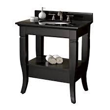 Black Vanity Black Bathroom Vanity Casual Cottage
