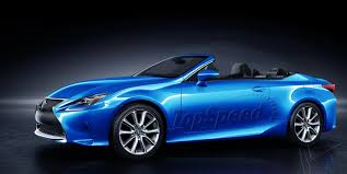 lexus rc 2016 lexus rc convertible review top speed