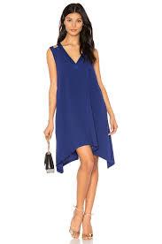 bcbgmaxazria michele dress in deep royal blue revolve