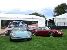 porsche singer porsche 911s beautifully reimagined by singer at amelia island