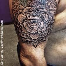 cory james tattoo amazing geometric dotwork tattoo by cory james