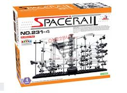 level 4 diy spacerail marble roller coaster toy space rail warp start model kit