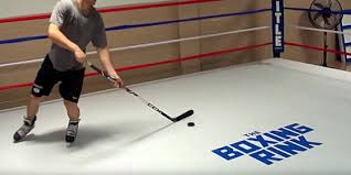 How To Make A Ice Rink In Your Backyard Synthetic Ice By Kwikrink Synthetic Ice Rinks Hockey