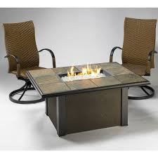 napa valley crystal fire pit table napa valley fire pit table