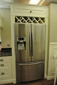 wine rack cabinet over refrigerator image result for built in wine rack above fridge wine racks