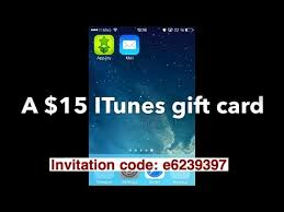 15 gift cards app nana appjoy 2014 how i got and redeemed 15 itunes gift