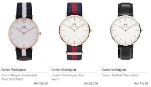 Jam Tangan Daniel Wellington Dan Harga beli guna voucher beautifulnara di zalora menangi jam tangan