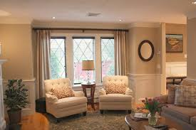 home design window treatment ideas for family room craftsman