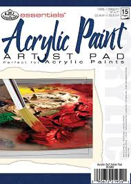 the best paper for acrylic painting acrylic paint paper pads