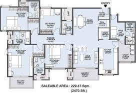 Sobha Jasmine Floor Plan L And T Realty Raintree Boulevard Sahakar Nagar Property Megamart