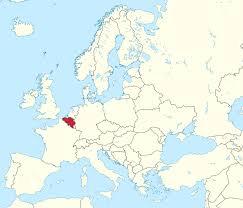 map of belgium belgium on europe map all world maps