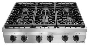 Wolf Gas Cooktop 30 Commercial 6 Burner Gas Stove Cook Top Natural Throughout The
